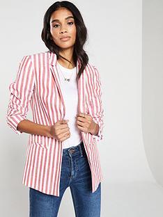 v-by-very-stripe-linen-blazer