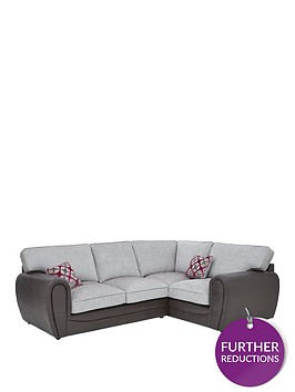 moreno-faux-snakeskin-and-fabric-right-hand-corner-group-standard-back-sofa