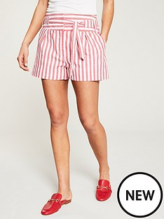 v-by-very-stripe-linen-shorts