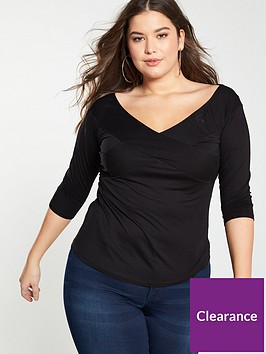 v-by-very-curve-cross-over-jersey-top-black