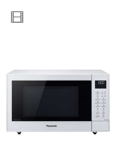 panasonic-nn-ct55jwbpqnbsp27-litre-combination-microwave-oven-and-grill-with-inverter-technology