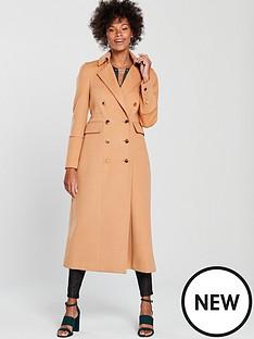 wallis-twill-maxi-military-coat