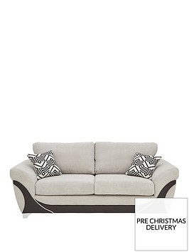 diaznbspfabric-and-fauxnbspleather-3-seater-sofa