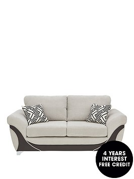 diaznbspfabric-and-faux-leather-2-seater-sofa