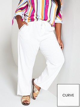 v-by-very-curve-linen-mix-trouser