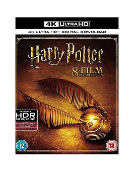 Harry Potter   Complete 8 Film Collection - 4K Uhd Blu-Ray