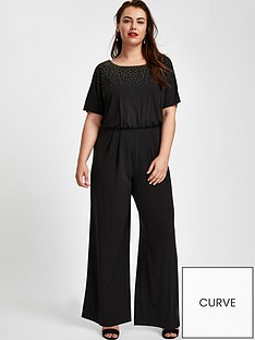 evans-sparkle-hot-fix-jumpsuit-blacknbsp