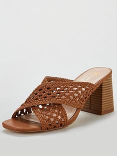 v-by-very-gia-cross-strap-weave-low-block-mule-sandal
