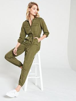 v-by-very-button-through-jumpsuit-khaki