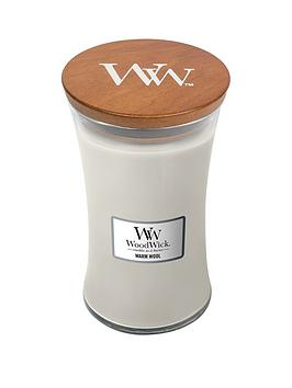WoodWick Woodwick Large Hourglass Candle &Ndash; Warm Wool Picture