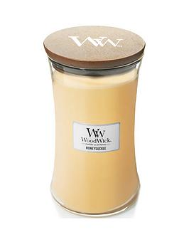 WoodWick Woodwick Large Hourglass Candle &Ndash; Honeysuckle Picture