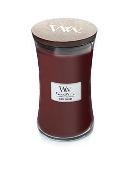 WoodWick Woodwick Large Hourglass Candle &Ndash; Black Cherry Picture
