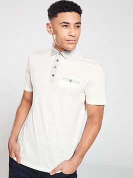 ted-baker-short-sleeved-geo-collar-polo-shirt-white