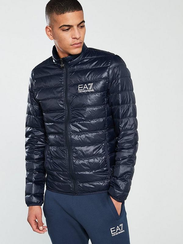 online for sale world-wide renown fashion design Core ID Down Jacket - Night Blue