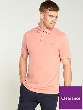 ted-baker-flat-knit-polo-shirt-coral