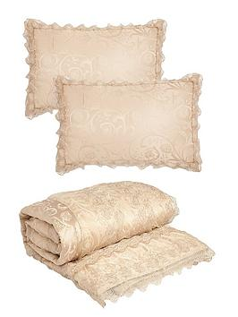 Very Patience Bedspread Throw And Pillow Shams Picture