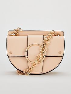 michelle-keegan-palma-circle-chain-strap-saddle-bag-nude