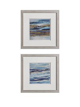 Gallery Gallery Aquarius Framed Wall Art &Ndash; Set Of 2 Picture