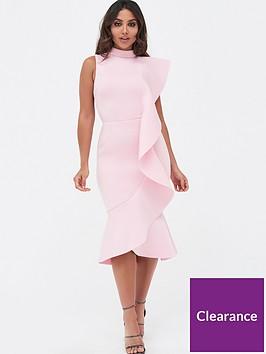 lavish-alice-extreme-frill-peplum-hem-scuba-midi-dress-pink
