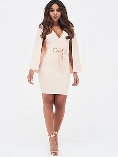 lavish-alice-lavish-alice-cape-mini-dress-with-eyelet-detail-belt
