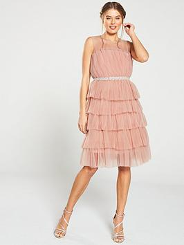 u-collection-forever-unique-ruffle-midi-dress