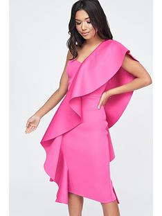 lavish-alice-lavish-alice-exaggerated-frill-one-shoulder-scuba-midi-dress