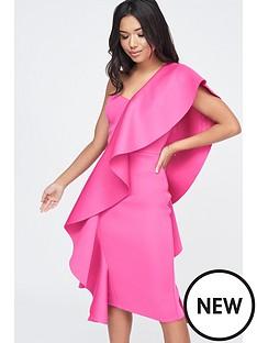 lavish-alice-lavish-alice-exaggerated-frill-one-shoulder-scuba-midi-dress