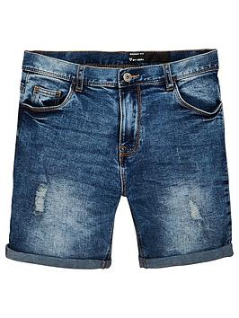 v-by-very-boys-rip-and-distressed-denim-shorts-mid-wash