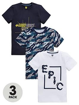 v-by-very-boys-3-pack-epicgood-vibescamo-t-shirts-multi