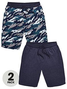 v-by-very-boys-2-pack-camo-amp-marl-jog-shorts-multi