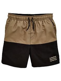 v-by-very-boys-colour-block-swim-shorts-blackkhaki