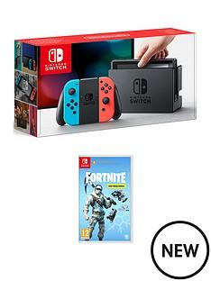 nintendo-switch-nintendo-switch-neon-console-with-fortnite-deep-freeze-bundle