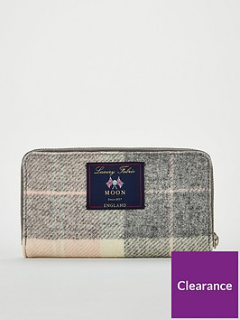 barbour-tartan-purse-pinkgreynbsp