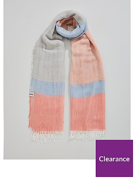 barbour-whitmorenbspstriped-colour-blocked-wrap-scarf-pinkblue
