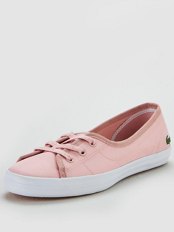 chaussures de sport bff53 edebf Ziane Chunky 119 2 Cfa Plimsoll - Pink/White