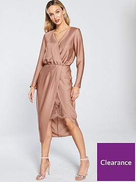 river-island-river-island-wrap-front-midi-dress-blush-pink