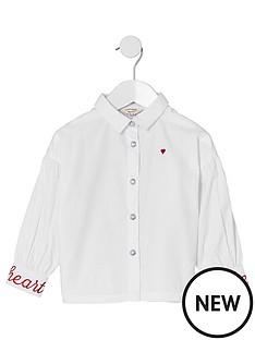 river-island-mini-mini-girls-white-poplin-balloon-sleeve-shirt