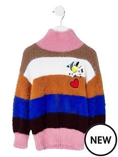 river-island-mini-girls-fluffy-stripe-knit-jumper