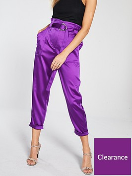 river-island-river-island-satin-peg-trouser-purple
