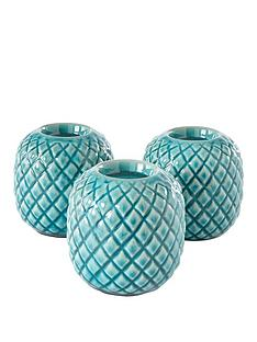 ideal-home-set-of-3-teal-etched-candle-holders