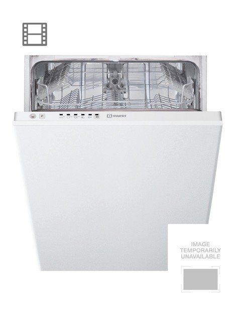 indesit-dsie2b10ukn-10-place-slimline-integrated-dishwasher-with-quick-washnbsp--white