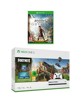 xbox-one-s-fornite-1tb-console-with-assassins-creed-odyssey