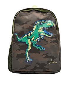 aaa678ba71 Joules Boys Patchback Dino Backpack