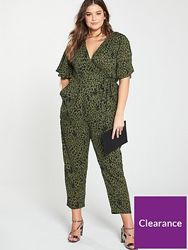 girls-on-film-curve-girls-on-film-curve-dalimation-print-wrap-front-tapered-leg-jumpsuit