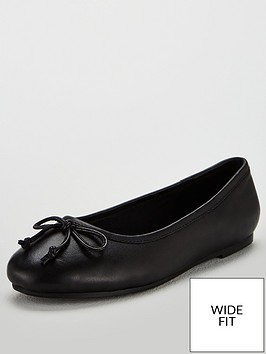 v-by-very-lia-leather-bow-flat-ballerina-shoes-black