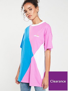 ellesse-azzurra-cut-amp-sew-t-shirt-bluepinknbsp