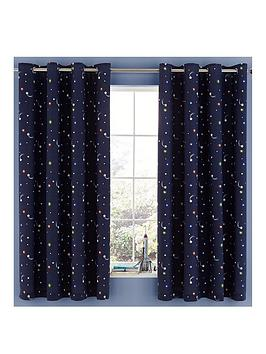 Catherine Lansfield Catherine Lansfield Happy Space Eyelet Curtains Picture