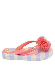 joules-sea-horse-pom-pom-flip-flops-blue