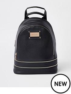 river-island-zip-backpack-black