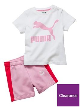 puma-baby-girls-minicats-short-tee-set
